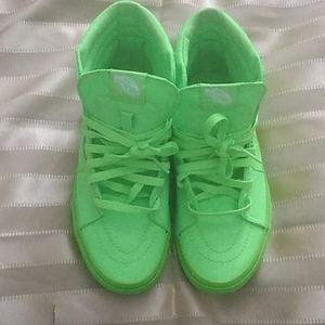 Vans Canvas Sk8 lace-up hi top sneaker